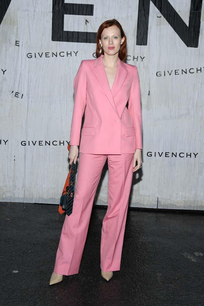 Karen Elson at Givenchy.