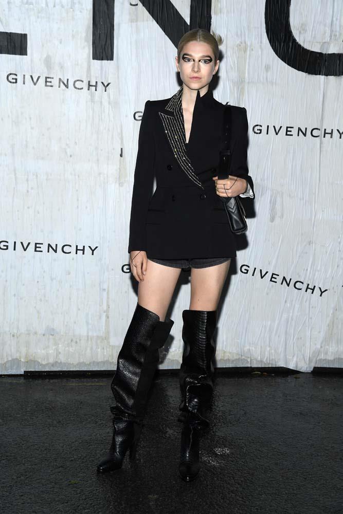 Hunter Schafer at Givenchy.