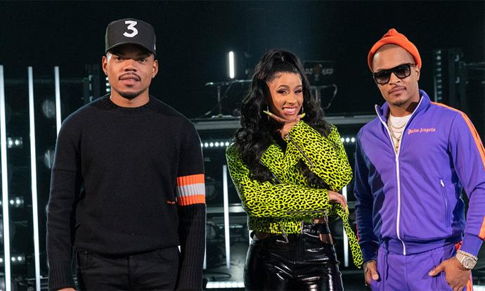 ***Rhythm + Flow*** **(9/10/2019)**<br><br>  Judges Cardi B, Chance the Rapper and T.I. search for the next breakout hip-hop star in this music competition series (see trailer at top of article).