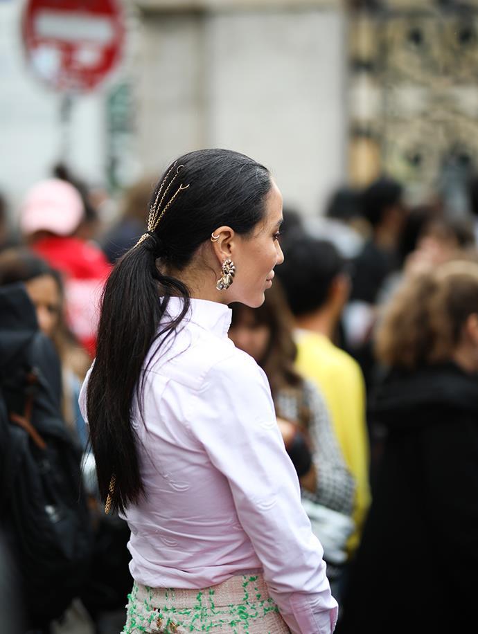 Street Style At Paris Fashion Week S/S 2020