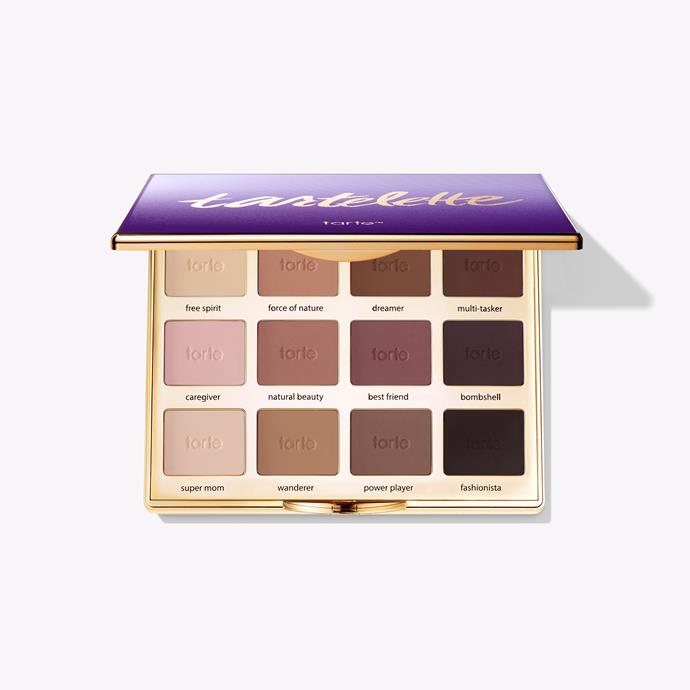 "**'Tartelette' Amazonian Clay Matte Eyeshadow Palette by Tarte** <br><br> This all-matte, all-neutral palette is the perfect go-to for nude look lovers. It's a great palette for everyday use and can be customised for a variety of skin tones. <br><br> *$41, available at [Tarte](https://tartecosmetics.com/en_AU/makeup/eyes/eyeshadow-palettes/tartelette-amazonian-clay-matte-palette/846733010745-UN.html|target=""_blank""