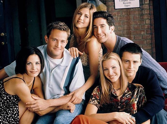 """***Friends*** <br><br> Personally, we won't tolerate much *Friends* slander, but it's undeniable that some of the show's plotlines have become a little dusty over the years. <br><br> From occasionally homophobic  and transphobic jokes to making fun of Monica's overweight younger self by labelling her 'Fat Monica' (much to her chagrin), a lot of the plotlines on *Friends* probably wouldn't have made it to air in 2019. We actually have an entire article discussing the show's potentially problematic plotlines, which you can read [here](https://www.elle.com.au/culture/friends-sexist-homophobic-fat-shame-19177