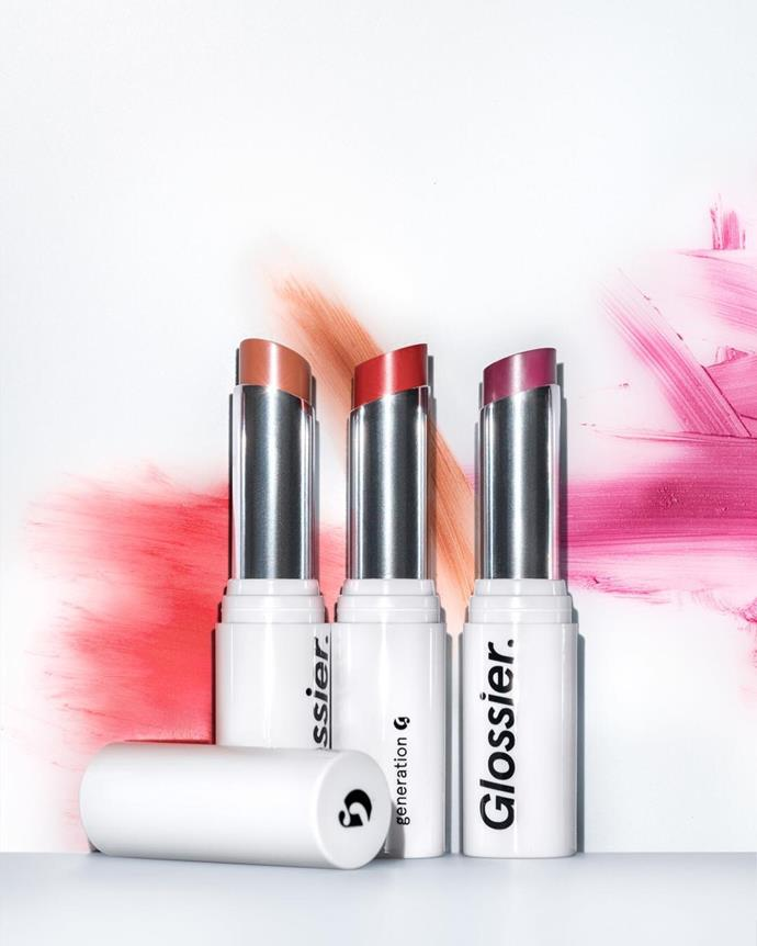 **If you want to try:** Glossier Generation G