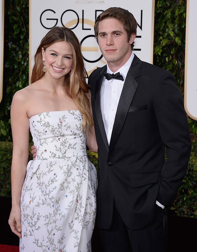 """**Melissa Benoist and Blake Jenner:** Though she married her *Supergirl* co-star Chris Wood in 2019, Melissa Benoist has actually tied the knot before, to her *Glee* co-star Blake Jenner in 2013. The pair split in 2016 and finalised their divorce a year later, citing """"irreconcilable differences""""."""