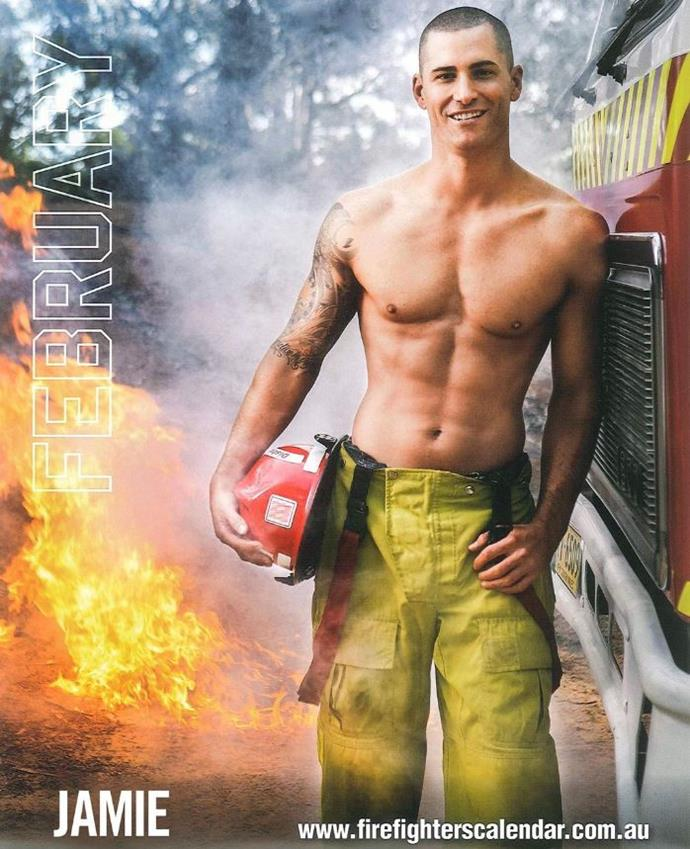 "**Jamie Doran** <br><br> A 39-year-old firefighter from New South Wales. <br><br> Instagram: [@jamiecdoran](https://www.instagram.com/jamiecdoran/|target=""_blank""