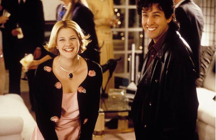 ***The Wedding Singer:*** Robbie, a singer, and Julia, a waitress, are both engaged, but to the wrong people. Fortune intervenes to help them discover each other.