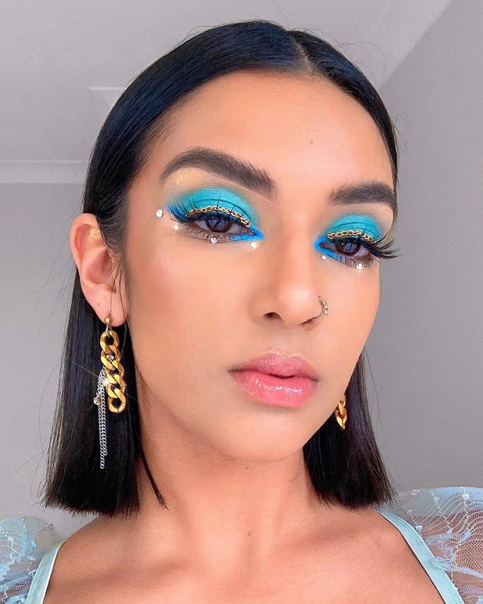 "**Any character from** ***Euphoria***<br><br>  If, like [Rowi Singh](https://www.elle.com.au/beauty/rowi-singh-makeup-21359|target=""_blank""), you love [*Euphoria*-style makeup](https://www.elle.com.au/beauty/new-york-fashion-week-euphoria-beauty-21234