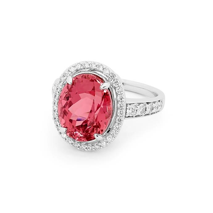 "Pink Tourmaline ring, POA by [Matthew Ely](https://www.matthewely.com.au/products/pink-tourmaline-and-diamond-ring/2366/?terms=40|target=""_blank""