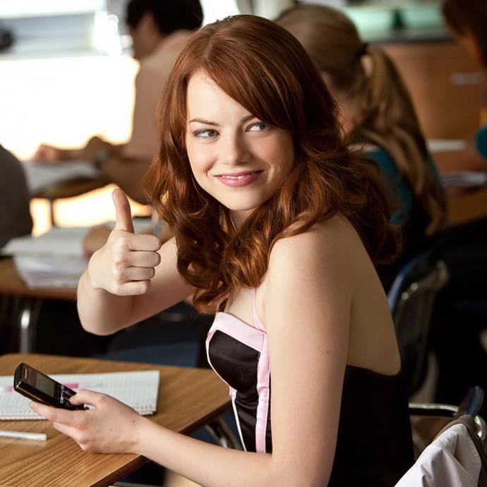 ***Easy A*** <br><br> This entirely unique comedy stars Emma Stone as Olive Penderghast, a clever high school student who decides to edge up her squeaky-clean image by lying about losing her virginity. But when the rumour gets out of hand, Olive finds herself becoming a schoolyard pariah, and she must fight to get the respect she deserves.