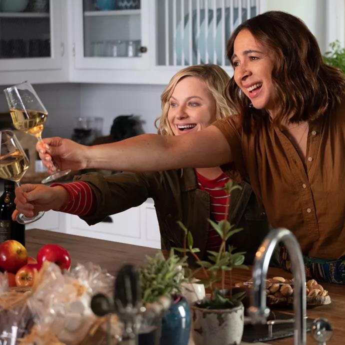 ***Wine Country*** <br><br> Some of Hollywood's best comedians (Amy Poehler, Maya Rudolph, Rachel Dratch) unite for an all-female road trip romp involving wine and mid-life crises. Given it's written and directed by Poehler, you really can't go wrong.