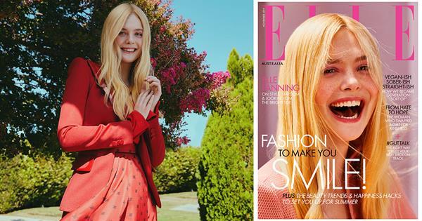 Elle Fanning On Dating, Red Carpet Fashion & Disney | ELLE Australia