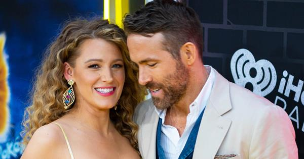 Blake Lively & Ryan Reynolds Share First Photos Of Third Baby | ELLE Australia