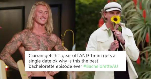 Bachelorette Australia: Timm & Ciarran Deserve All The Roses | ELLE Australia