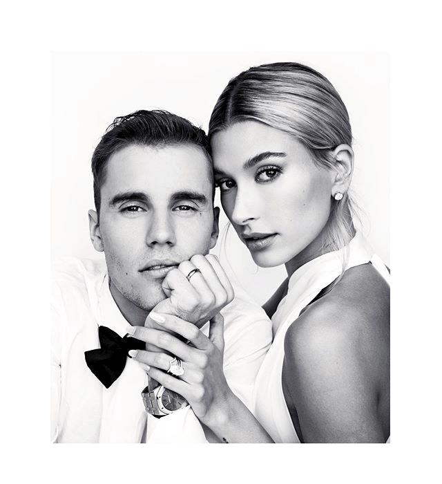 "**Justin Bieber and Hailey Bieber** <br><br> In possibly the most famous case of 'celebrity-marries-crush', Hailey Bieber (née Baldwin) began dating her husband, Justin Bieber, after crushing on him since childhood. Both Biebers have shared [old photos](https://www.elle.com.au/celebrity/justin-bieber-hailey-baldwin-selena-gomez-21362|target=""_blank"") and footage from when they first met at a 2009 meet-and-greet, involving a moody pre-teen Hailey sharing a hug with her now-husband."