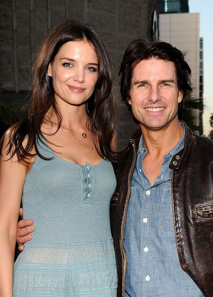 "**Katie Holmes and Tom Cruise** <br><br> Years before marrying Tom Cruise, Katie Holmes had a major crush on her future husband, if her *Dawson's Creek* co-stars are to be believed. Mary Beth Peil, who co-starred with Holmes on the popular drama series, told *[The Daily Beast](https://www.thedailybeast.com/katie-holmes-revealed-crush-on-tom-cruise-to-dawsons-creek-co-stars|target=""_blank""