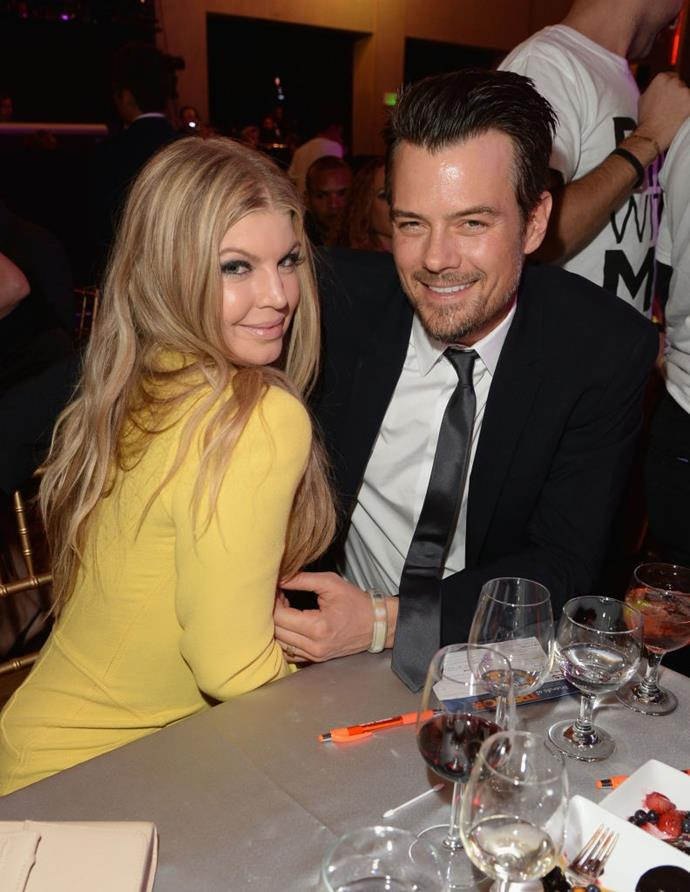 "**Fergie and Josh Duhamel** <br><br> Actor Josh Duhamel was always vocal about his crush on *Black Eyed Peas* singer Fergie, so when the couple met in 2004, even Fergie herself knew about it. <br><br> The singer told *Playboy* of her ex-husband: ""I had read in a magazine that he'd had a naughty dream about me. All my friends knew about him because he had been a soap opera star. I'm not into soap operas, but they told me, 'You gotta go out with him. Do it for the group. Take one for the team.'"""