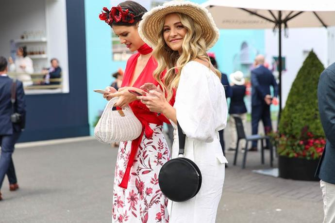 Racegoers at Stakes Day 2018.