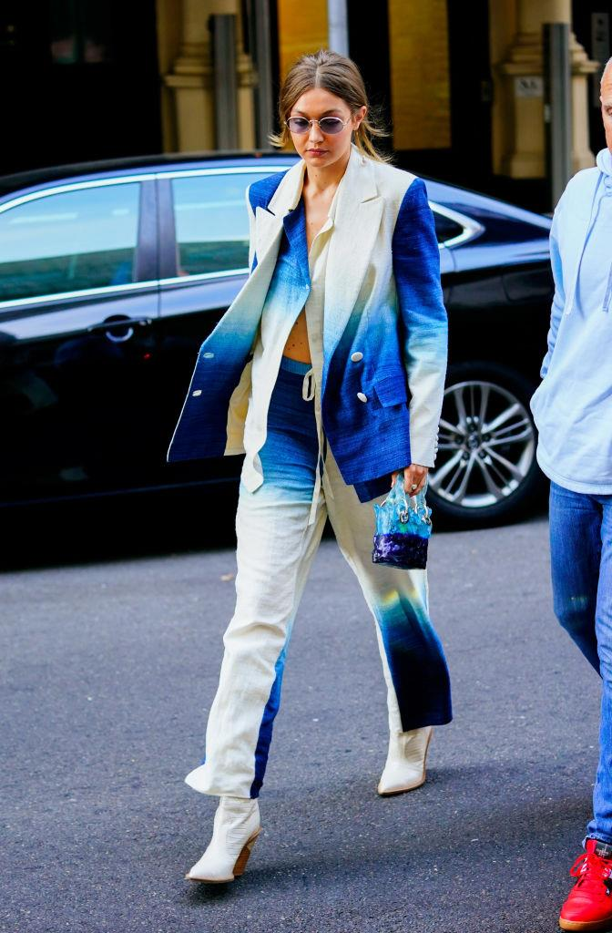 Gigi Hadid in New York on October 19, 2019.