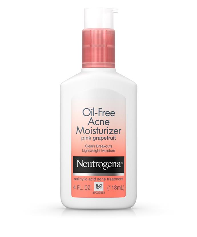"**Oil-Free Acne Moisturiser Pink Grapefruit with Salicylic Acid, $22.53 from [Amazon](https://www.amazon.com.au/Fluid-Ounce-Pink-Grapefruit-Moisturiser/dp/B00NR1YQKO|target=""_blank""
