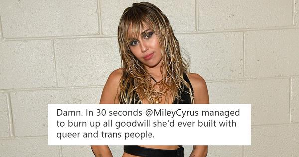 Miley Cyrus 'You Don't Have To Be Gay' Comments Backlash | ELLE Australia
