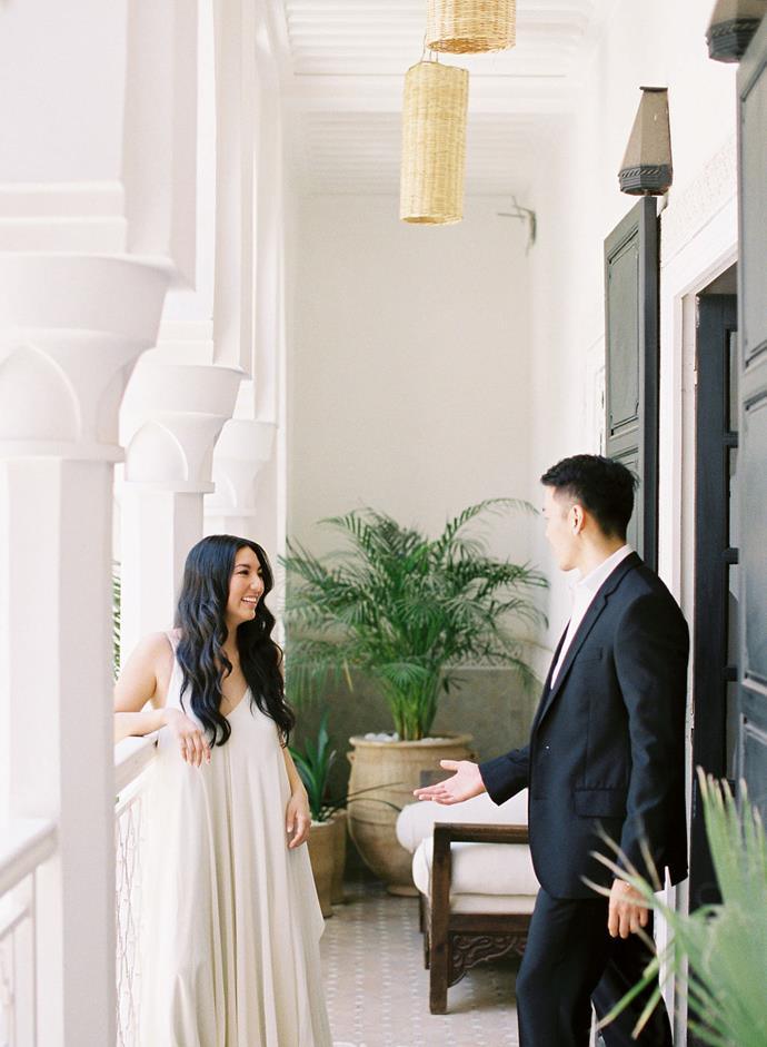 **What was the overall 'vibe' for the day?**<br><br>  We knew we wanted our day to be out of a dream—minimal, romantic and intimate. It was also very important to us that the day be stress-free and relaxing.