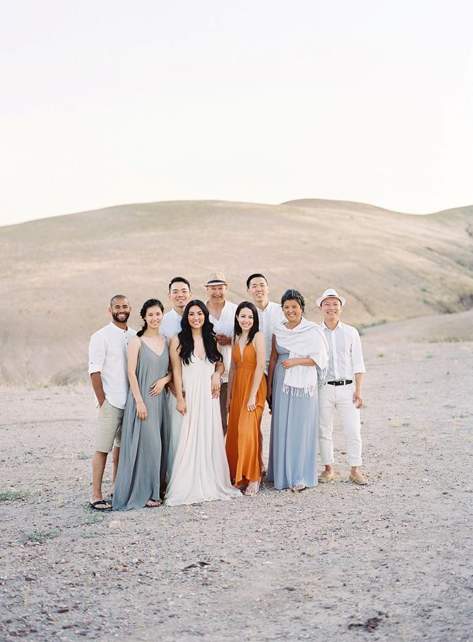 **What did your bridal party wear?**<br><br>  Since it was such a small group, we didn't have a bridal party!
