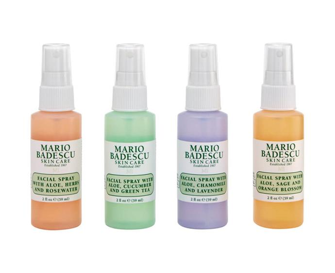 "**Facial Spray Pack by Mario Badescu, $31 at [Mecca](https://www.mecca.com.au/mario-badescu/facial-spray-4-pack/I-040241.html?cgpath=edits-holidayedit|target=""_blank""