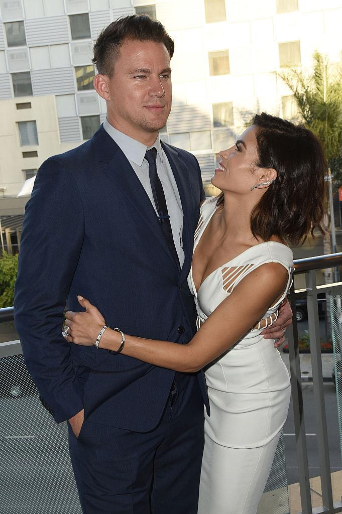 Dewan and her ex-husband, Channing Tatum, in August 2015.