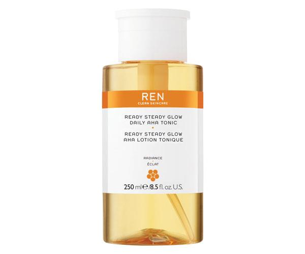 "Ready Steady Glow Daily AHA Tonic, $49, REN Clear Skincare at [Mecca](https://www.mecca.com.au/ren-clean-skincare/ready-steady-glow-daily-aha-tonic/I-031500.html|target=""_blank""