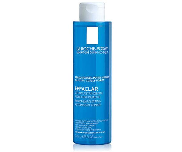 "Effaclar Astringent Toner for Oily Skin, $23.99, [La Roche-Posay](https://www.laroche-posay.us/face-and-body-skin-care/face-products/face-toner/effaclar-astringent-toner-for-oily-skin-3433422408159.html|target=""_blank""
