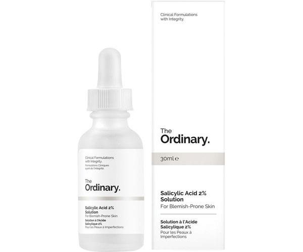 "Salicylic Acid 2% Solution, $9.30, The Ordinary at [Myer](https://www.myer.com.au/p/the-ordinary-salicylic-acid-2-solution|target=""_blank""