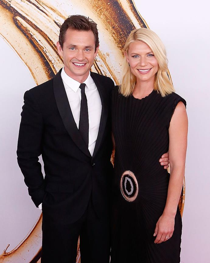 "**Claire Danes and Hugh Dancy**<br><br>  One of the perils of navigating a trans-Atlantic marriage? Forcibly having to spend a significant amount of time apart. And although Claire Danes and Hugh Dancy [reportedly](https://people.com/tv/homelands-claire-danes-husband-hugh-dancy-living-and-working-in-new-york/|target=""_blank"") now live together in New York, they did spend much of the beginning of their marriage apart from each other.<br><br>  ""In the formative stages of our courtship, our relationship, our schedules were amazingly compatible,"" Danes [said](https://www.heraldsun.com.au/ipad/claire-danes-has-to-go-home-alone/news-story/de6932adc9a43c4d98644d838503a5ac?sv=b8133c9d64025d2365651ca1ce4b9a9e