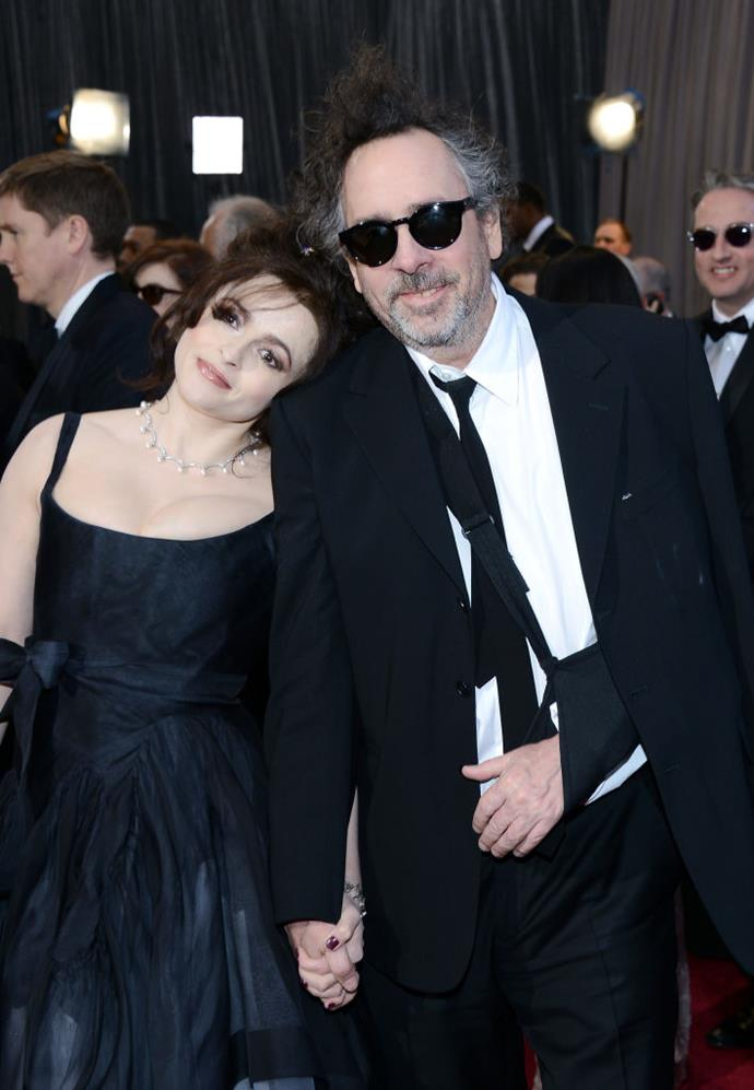 "**Helena Bonham Carter and Tim Burton**<br><br>  Helena Bonham Carter and Tim Burton famously lived in separate sides of a conjoined property for the duration of their 13-year marriage. Why? Burton allegedly snored and had unusual sleep patterns.<br><br>  Although an unconventional living arrangement, Bonham Carter claimed it was good for their relationship.<br><br>  ""We see as much of each other as any couple, but our relationship is enhanced by knowing we have our personal space to retreat to,"" she allegedly told Britain's *Radio Times* in 2010 (quote via [*The Telegraph*](https://www.telegraph.co.uk/news/celebritynews/9587484/Planet-of-the-Apes-director-Tim-Burton-and-Helena-Bonham-Carter-move-in-under-one-roof.html