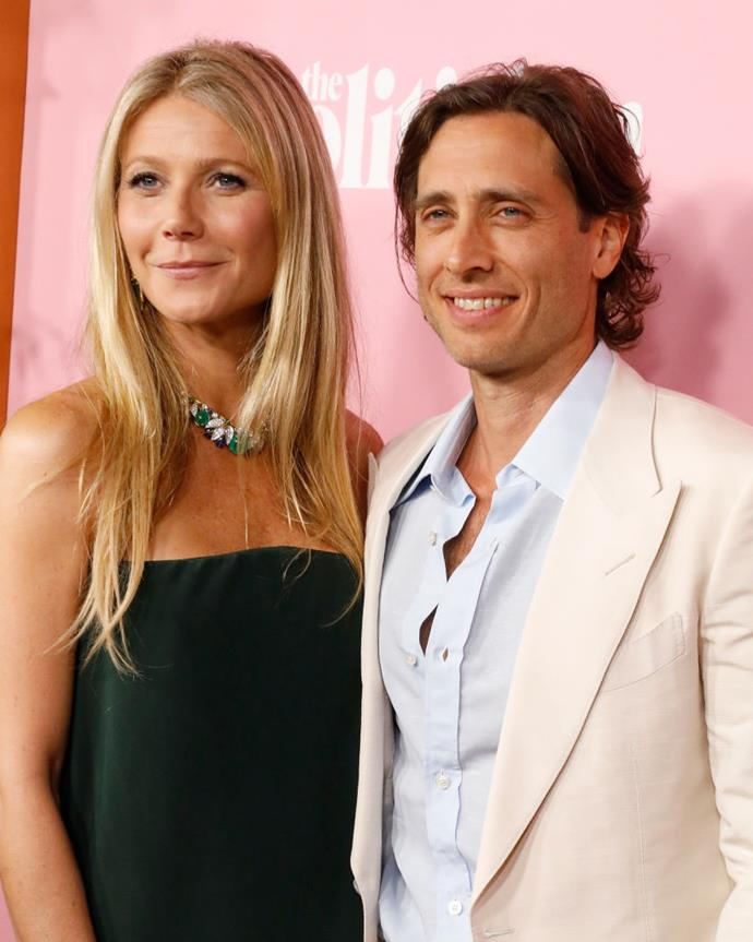 "**Gwyneth Paltrow and Brad Falchuk**<br><br>  Although Gwyneth Paltrow tied the knot with her second husband, producer Brad Falchuk in September 2018, the pair consciously chose to live apart for almost the first full year of their marriage.<br><br>  In a June 2019 interview with British newspaper *The Times*, Paltrow explained that the couple spent four nights a week together, with the remaining three spent in their homes with their children, who come from previous marriages.<br><br>  ""All my married friends say that the way we live sounds ideal and we shouldn't change a thing,"" Paltrow said.<br><br>  Despite her friends' sentiments, the newlyweds have reportedly since changed their living situation, with [*Harper's BAZAAR* U.S.](https://www.harpersbazaar.com/celebrity/latest/a28636189/gwyneth-paltrow-move-in-brad-falchuk/
