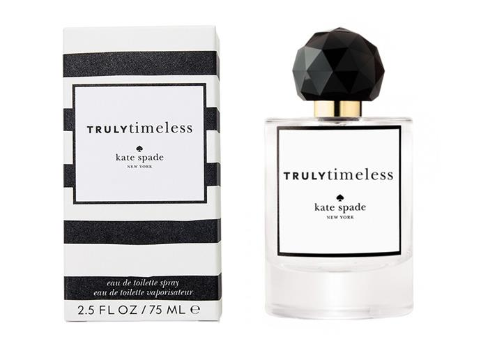 "Peppered with notes of neroli blossom and cotton flower, and blended with base notes of cedar and white musk, this fragrance has a distinctly summer vibe to it. Classic but unique—gently spritz it onto pulse points for all-day scent. <br><br> **Truly Timeless by Kate Spade EDT 75ml, $85 at [Priceline](https://www.priceline.com.au/kate-spade-trulytimeless-edt-75-ml|target=""_blank""