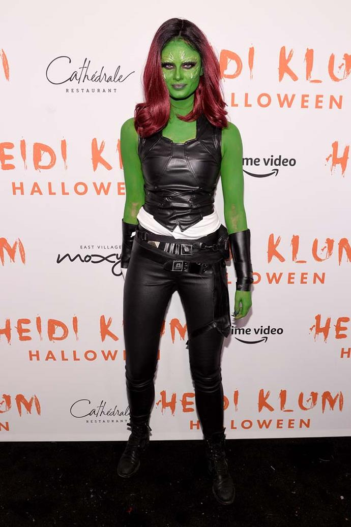 Taylor Hill as Gamora.