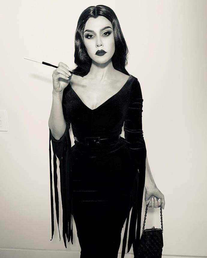 Kourtney Kardashian as Vampira.