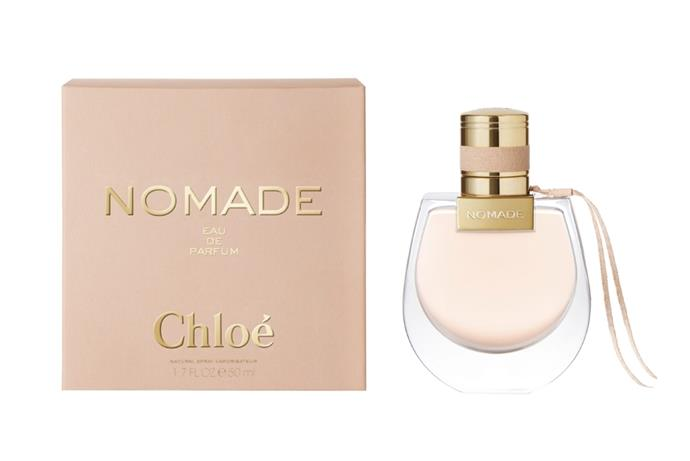 "A spritz for your fashion-forward friend. Inspired by the Chloé Drew bag, this rounded scent balances feminine florals with warming Mirabelle liqueur. <br><br> **Chloé Nomade EDP 50ml, $145 at [Priceline](https://www.priceline.com.au/chloe-nomade-edp-50-ml|target=""_blank""