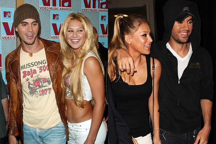 "**Enrique and Anna Kournikova**<br><br>  One of the most low-key yet longest-running relationships in Hollywood, Enrique and Anna Kournikova, like Legend and Teigen, first met on the set of the Spanish singer's ""Escape"" video in 2001. They started dating that year, had twins in 2017, and are still together to this day."