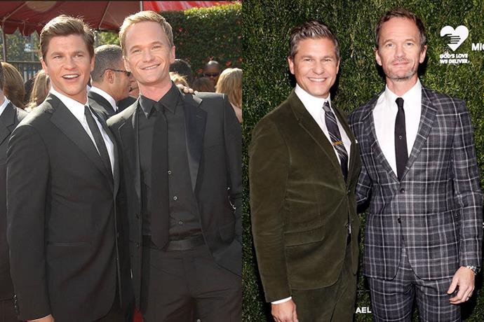 **Neil Patrick Harris and David Burtka**<br><br>   It's not clear when the actor and actor-cum-chef met, but by 2007 they were engaged, after Harris confirmed his sexuality publicly in 2006. They married in 2014, and have two children via surrogate, twins Harper and Gideon.