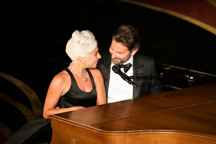 Lady Gaga and Bradley Cooper at the 91st Annual Academy Awards in 2019.