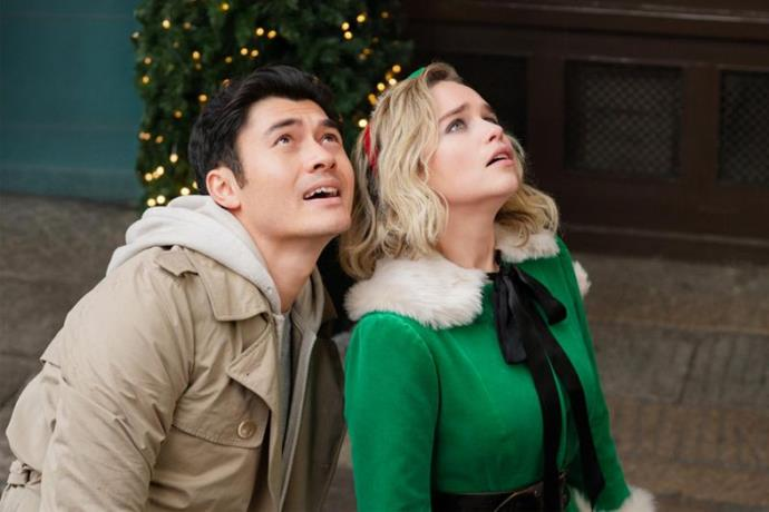 ***Last Christmas***<br><br>  In theatres on November 7, this Wham!-inspired film tells the story of Kate (Emilia Clarke) who obligingly accepts work as a Santa's elf in a department story. However, it is in this department story that she meets Tom (Henry Golding) and her life takes a very unexpected twist (see the trailer at the top of the article).