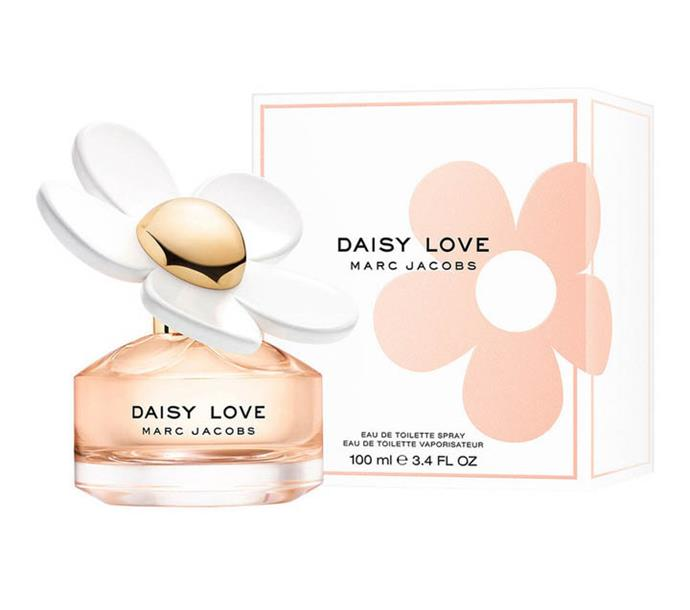 "**Daisy Love by Marc Jacobs, EDT, $80 to $140 from [Myer](https://www.myer.com.au/p/daisy-love-edt-629068150|target=""_blank""