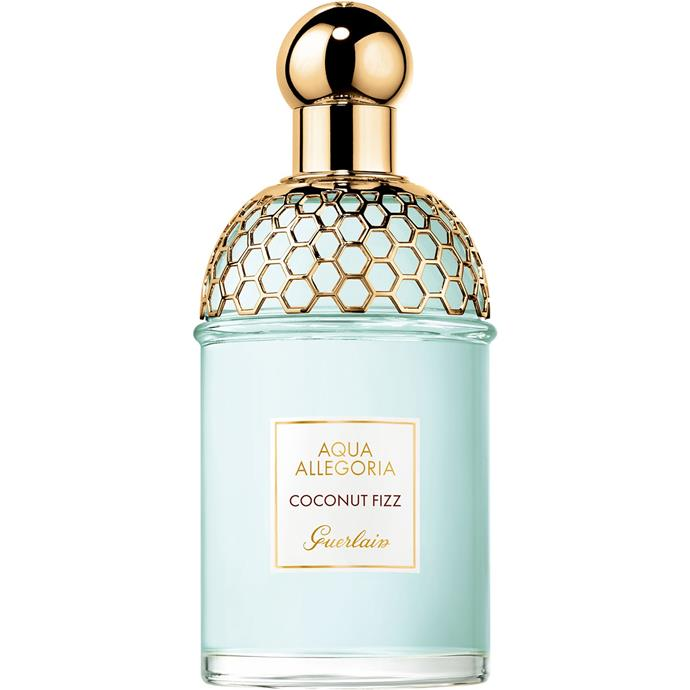 """**Aqua Allegoria Coconut Fizz by Guerlain, EDT, $108 from [Sephora](https://www.sephora.com.au/products/guerlain-aqua-allegoria-coconut-fizz-eau-de-toilette/v/default