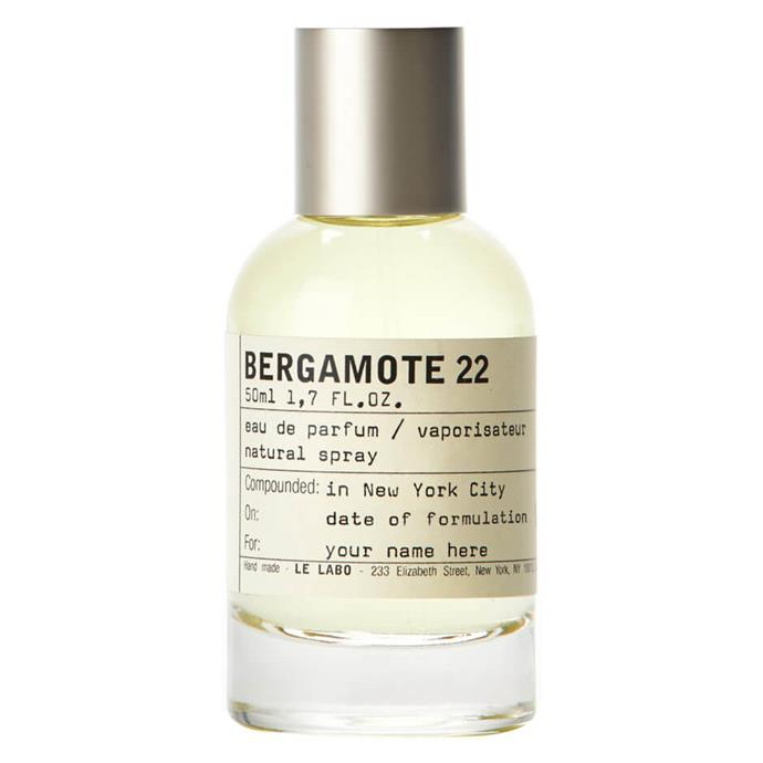 "**Bergamote 22 by Le Labo, EDP, $289 from [Mecca](https://www.mecca.com.au/le-labo/bergamote-22-50ml/I-007161.html|target=""_blank""