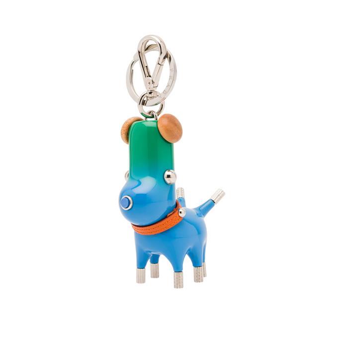 "Keychain, $720 by [Prada](https://www.prada.com/au/en/women/accessories/keychains_and_tricks/products.pradamalia_leather_keychain_trick.1TR060_2B1V_F0013.html|target=""_blank""|rel=""nofollow"")."