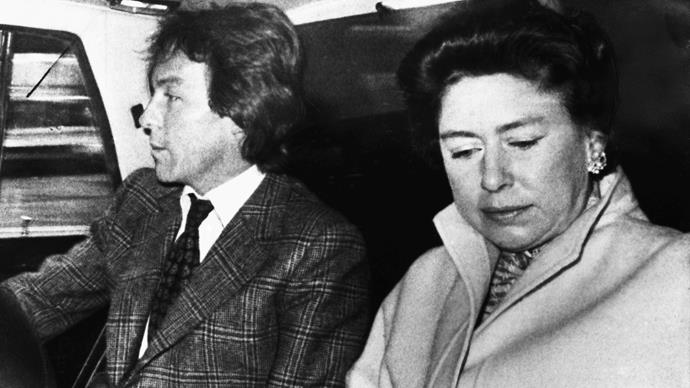Roddy Llewellyn and Princess Margaret
