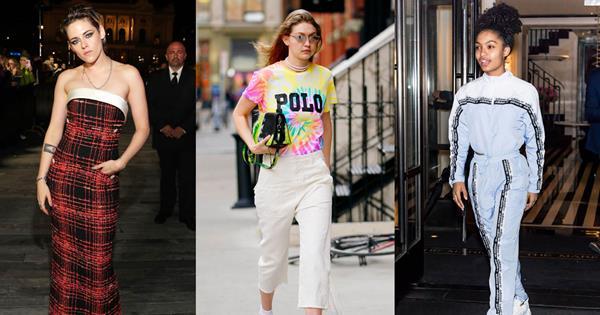 20 Times Celebrities Wore '90s Fashion In 2019 | ELLE Australia
