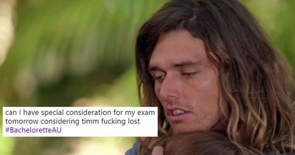 Bachelorette Australia: Timm Left Heartbroken In The Finale | ELLE Australia