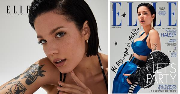 Halsey On How Her Hair Reflects Her Mindset | ELLE Australia